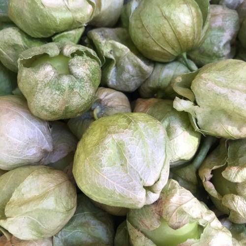 Tomates verdes mexicanos