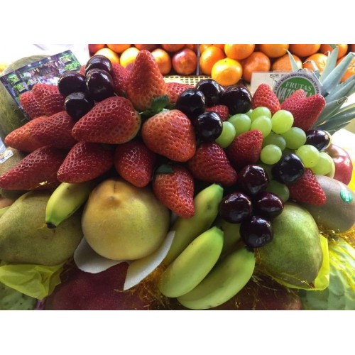 Cesta de fruta personalizada
